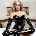 bdsm transsexual webcam girl in leather